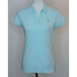 VINEYARD VINES Sky Blue Cotton Polo Shirt XS